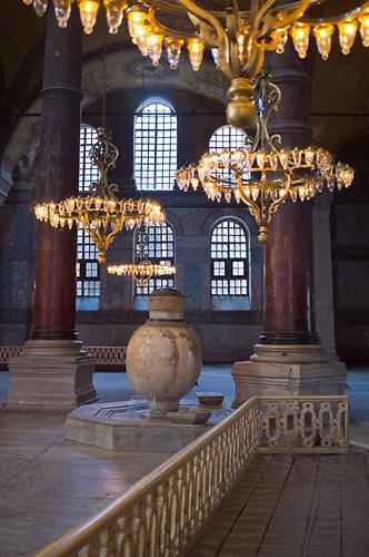 Hagia Sophia - Low Chandeliers