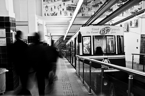 Tünel train